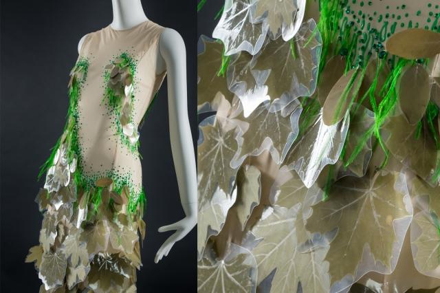 robe feuilles winter 2009 on aura tout vu